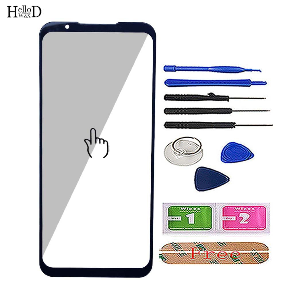 6.65'' Mobile Phone Front Glass For ZTE Red Magic 5G NX659J Front Outer Glass ( No Touch Screen Digi