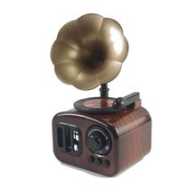 Children Phonograph Record Classical Music Box Home Bedroom Room Creative Decoration Ornaments Kids