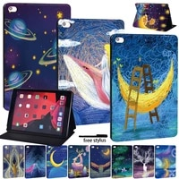 tablet case for apple ipad 8 2020 8th gen 10 2 inch anti fall cover case free stylus