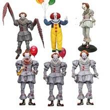 NECA 3D 13th Venerdì Jason Leatherface Motosega John Carpenter di Michael Myers Freddy Krueger Pennywise Joker Action Figure