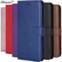 leather flip wallet case for huawei p30 p20 pro p10 p9 p8 lite 2017 p smart 2019 honor 10 lite 8s 8a 8c 8x 9x pro cover case