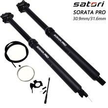 Satori hauteur réglable tige de selle compte-gouttes 150mm voyage poste vélo vtt enternal routage 30.9mm 31.6mm * 460 distance tige de selle