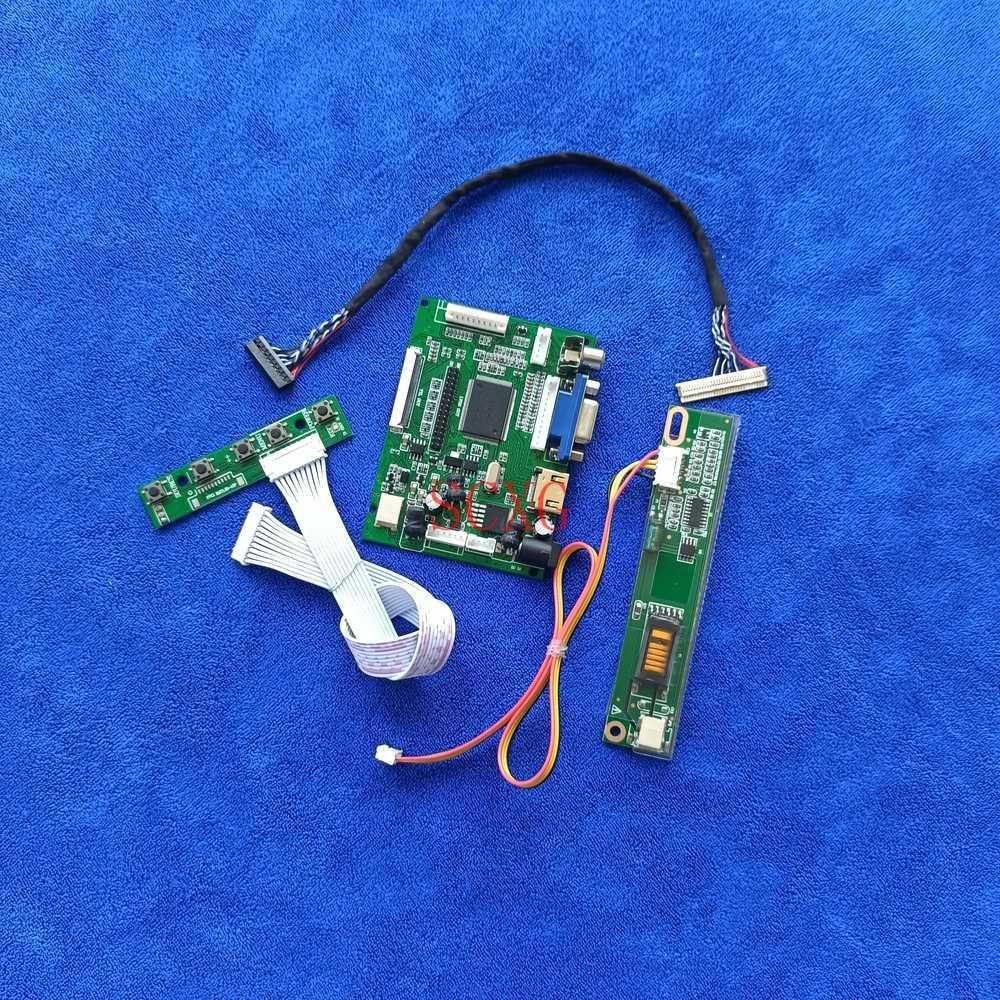 VGA 2AV HDMI-متوافق 1-CCFL لتقوم بها بنفسك عدة مصفوفة وحدة تحكم بشاشة إل سي دي محرك المجلس 1280*768 صالح CLAA140WA01A/QD14WL01 عرض LVDS 30 دبوس