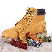 1 paio di lacci rotondi per scarpe Sneakers a righe lacci per scarpe Martin stivali lacci scarpe stringhe camminate all'aperto escursionismo lacci delle scarpe