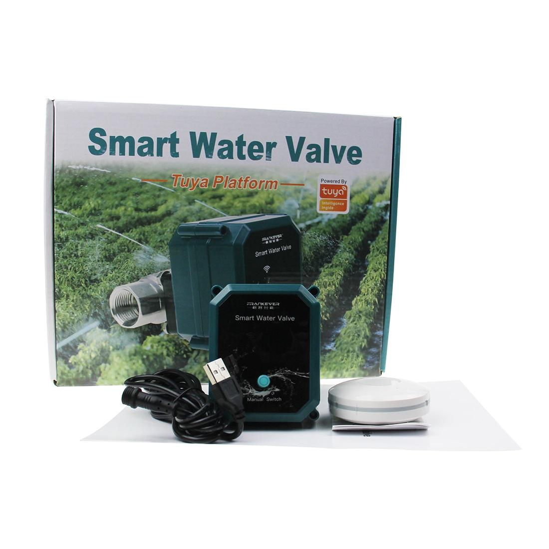 Tuya  Smart WiFi Water Valve Congenial with Alexa Google Home and Wireless Gate enlarge