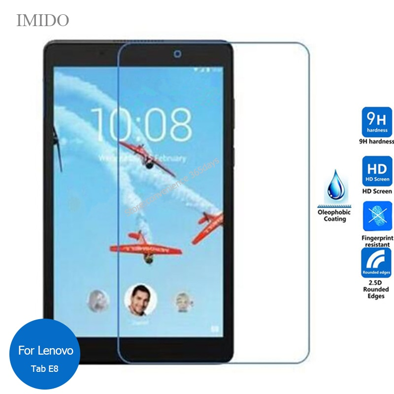 For Lenovo Tab E8 TB-8304F Tempered Glass Screen Protector 9h Safety Protective Film on Tab 8 E 8 Tab8 8.0 TB-8304F1 TB 8304F