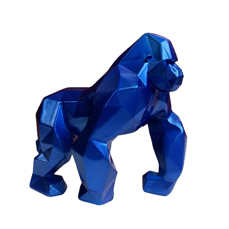 4 цвета, скандинавские украшения в виде животных, гориллы, гостиная, офис, ТВ, винная тумба, креативное украшение для дома, ремесла, подарки, с...