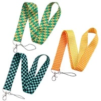 fd0782 anime fashion lanyards for key neck strap for card badge gym key chain lanyard key holder diy hang rope keychain