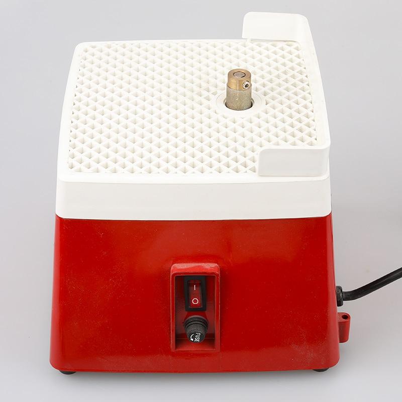 110V Mini diamond grinder small multi-function glass ceramic grinding table DIY hobby edging machine
