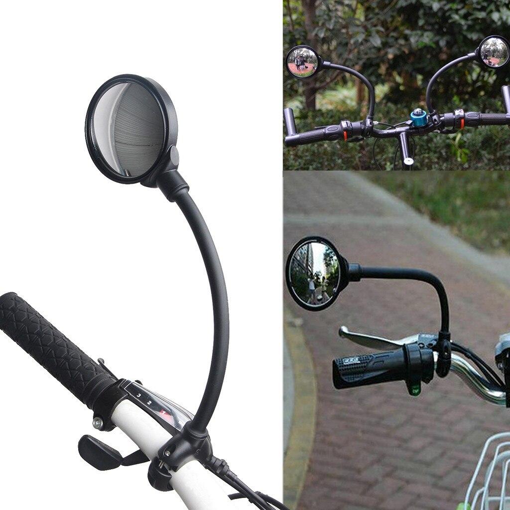 Bisiklet ayna MTB yol dikiz aynası bisiklet gidon arka göz kör nokta ayna esnek güvenlik dikiz bisiklet aynaları #3