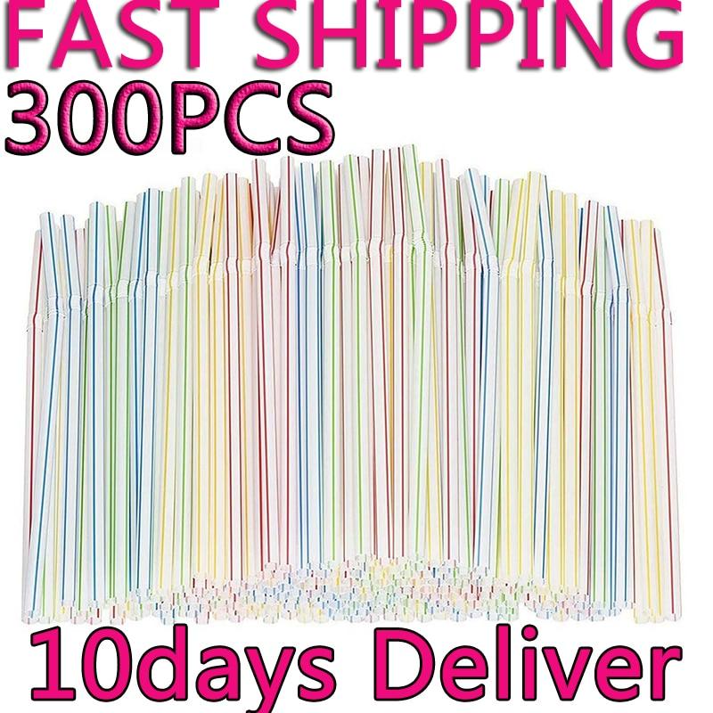 300-uds-pajitas-de-plastico-para-beber-8-pulgadas-multi-rayas-de-colores-bedable-desechables-pajitas-fiesta-multi-color-arco-iris-de-paja