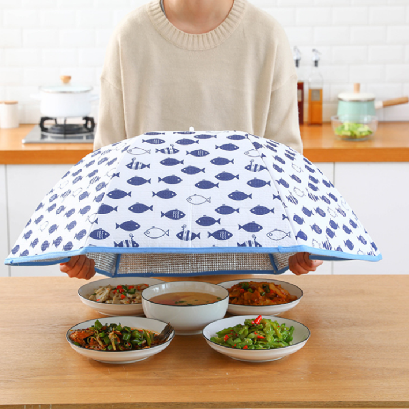 Heat preservation foldable dish cover square large dish cover dust cover food meal cover anti-home dining table cover high quality 70mm ptfe teflon petri dish with cover f4 culture dish chemical experiment equipment free shipping