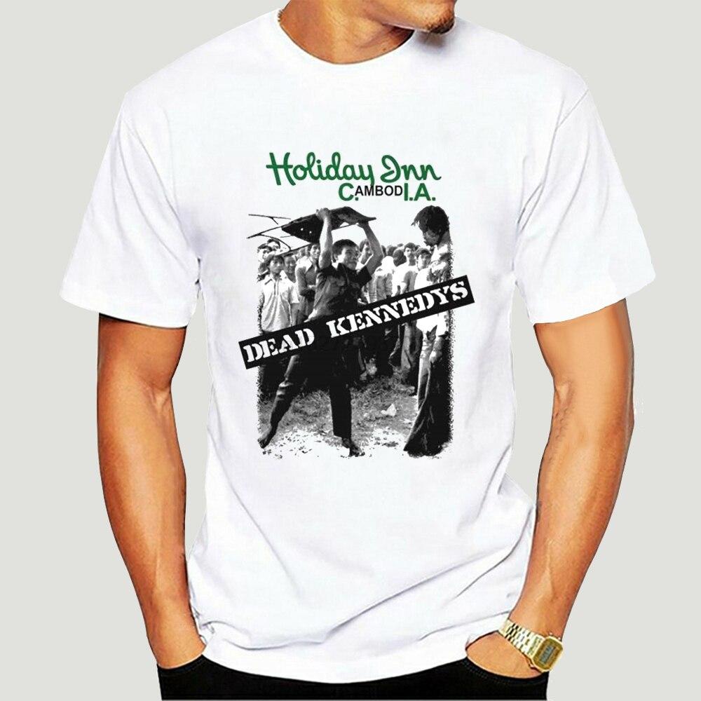 Toten Kennedys Holiday Inn Weiß T Shirt Neue 0754A