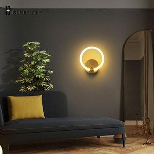 New Arrivals Modern Home Indoor LED Wall Light for Living Room Bedroom Bedside Light Dining Room Kitchen Sconces Wall Lamp Gold