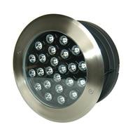 CE IP67 24W LED underground light LED inground light led buried light step light path light DS-11S-10-24W 24VDC stainless stell