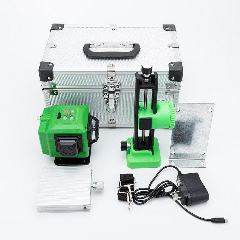 Nouveau niveau Laser de nivellement électronique Laser Laser vert 3D