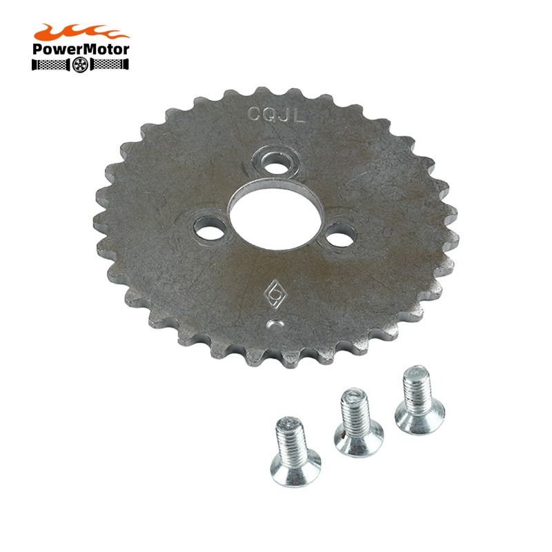 Motorcycle 32 Tooth Camshaft Timing Sprocket with bolt For lifan 125cc 150cc Horizontal Engines Dirt Pit Bike Monkey Atv Quad