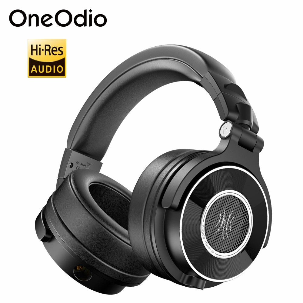 Oneodio مراقب 60 المهنية استوديو رصد سماعات فوق الأذن ستيريو سماعة رأس سلكية مع ميكروفون مرحبا الدقة الصوت ل DJ