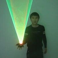 green red laser vortex gloves auto rotating vortex laser glove palm gyroscope gloves light up birthday party laser show
