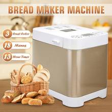 Automatic 18 Programmes Bread Maker Machine LCD Display 450W Bread baking Home diy Yogurt Maker Machine Household Cooking Tools