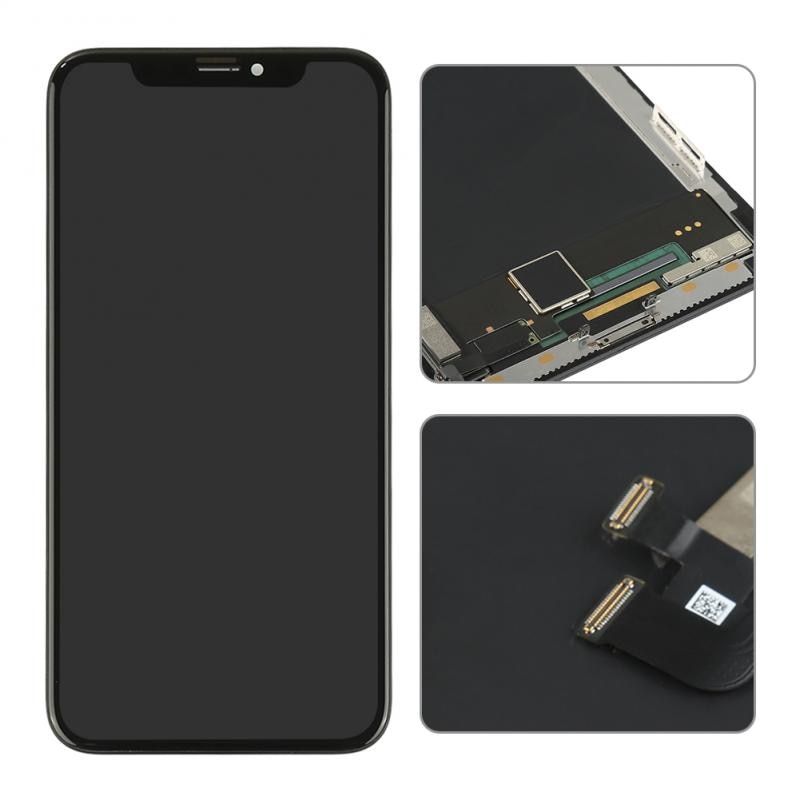 Super OLED For IPhone X 10 5.8'' LCD Display Touch Screen Assembly Replacement Black Mobile Phone LCD Screens Mobile Phone Parts enlarge