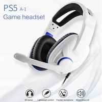 wireled headphone headset foldable stereo headphone gaming earphones with microphone for pc mobile phone mp3
