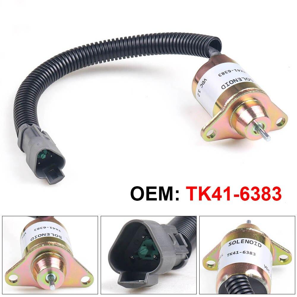 TK41-6383 新 1503ES-12S5SUC11S 12 24v停止用電磁弁ヤンマーサーモキング