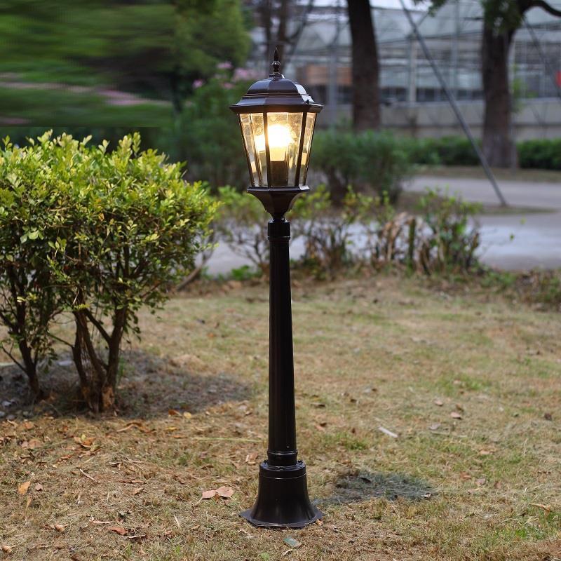 Jalan Farola Style Lampadaire Bouwlamp Strassenbeleuchtung Outdoor Luminaire Exterieur Off Road Lampione Plaza Street Light enlarge