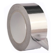 Tape High Temperature Resistant Duct Repairs Heat Safe Adhesive Aluminum Foil Roll Seal Ring Thermal Resist Useful