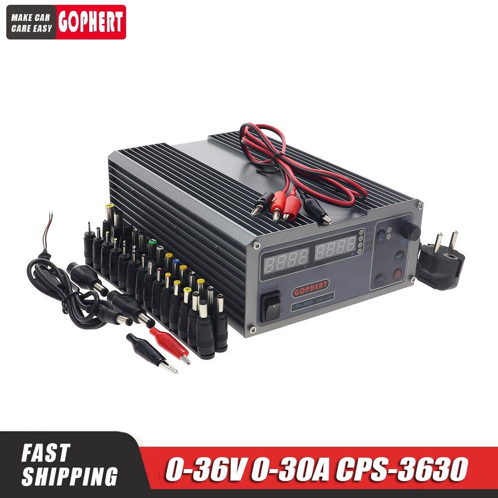 CPS 3630 0-36 فولت 0-30A قابل للتعديل تيار مستمر امدادات الطاقة الجهد المستمر امدادات الطاقة MCU PFC المدمجة مختبر تحويل امدادات الطاقة
