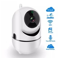 smart wifi camera security protection wireless outdoor automatic tracking infrared surveillance camera home smart plus ip camera