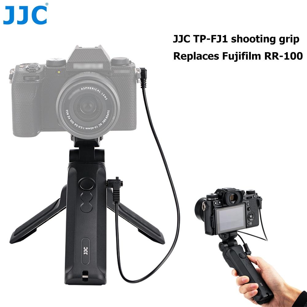 JJC RR-100 عن قبضة حامل ثلاثي القوائم ل فوجي فوجي فيلم XT4 XE4 XS10 GFX100 XT3 XE3 XT30 X100V GFX 50R XPro3 XT20 X100F XA5 XE2