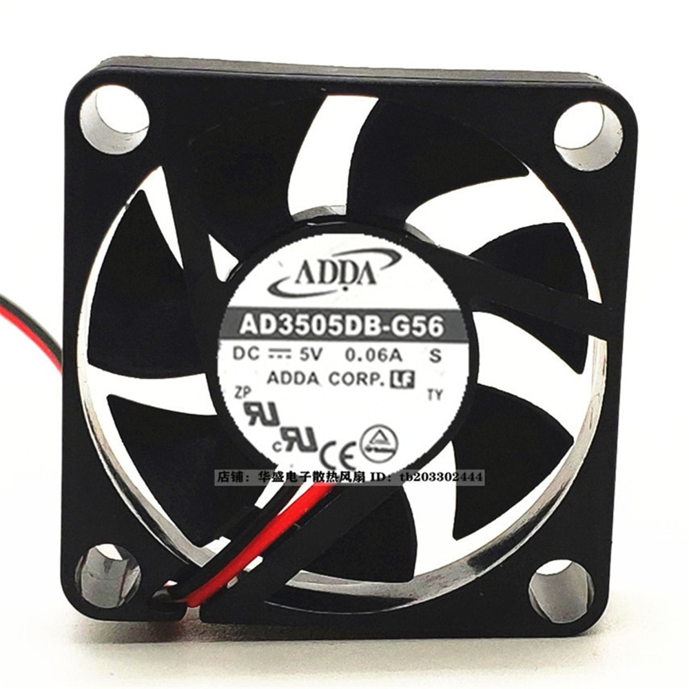 AD3505DB-G56 3510 5V 0.06A Double Ball Notebook Cooling Fan