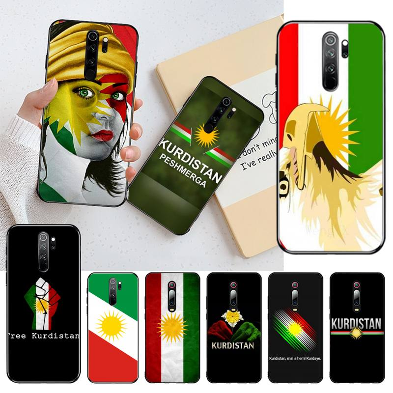 NBDRUICAI Kurd Kurdish kurdistan flag Phone Case for Redmi Note 8 8A 7 6 6A 5 5A 4 4X 4A Go Pro Plus Prime