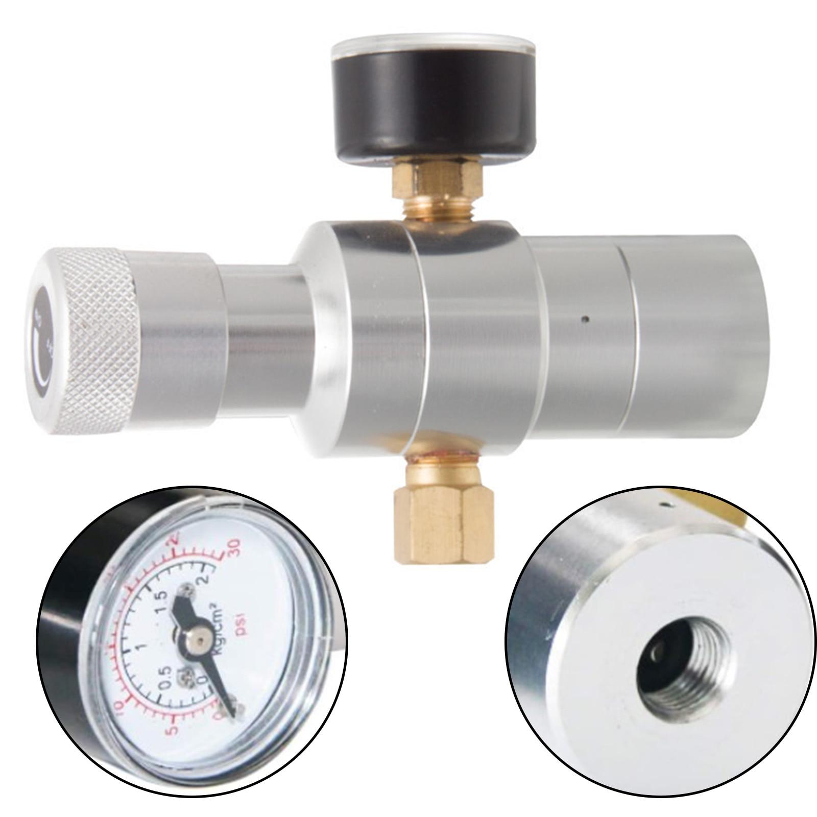 CO2 Regulator Includes Keg Regulator 0-30 PSI, 3/8