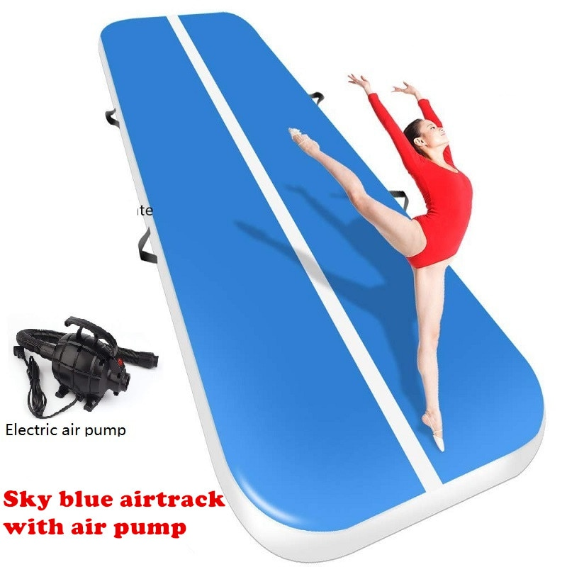 3-7 Days Delivery 5M 4M 3M Inflatable Airtrack Gymnastics Air Track Water Park Sports Mattress Gym Mat Trampoline Training Mat