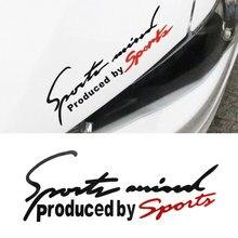 Autocollant lettre demblème de voiture   Étiquette de capot de voiture, style de voiture, pour Audi BMW Benz VW Sport AMG