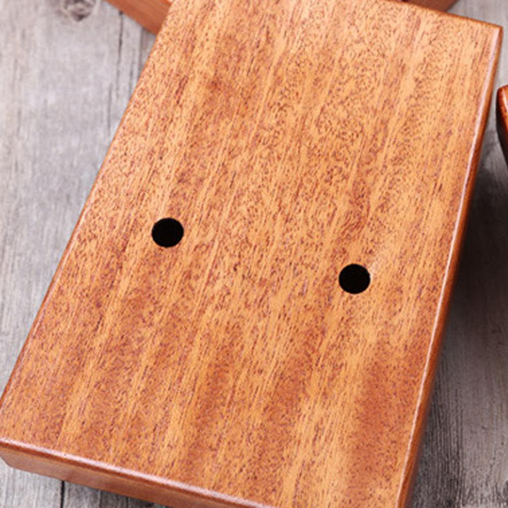 17 Key Kalimba Mahogany Thumb Piano Finger Mbira Reindeer Bag Xmas Gift enlarge