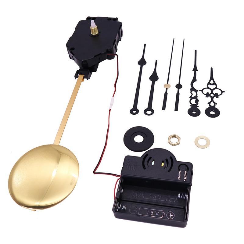 Кварцевый маятниковый механизм часов, настенные часы «сделай сам», Запасные детали для мотора, Классические маятниковые часы, музыкальная ...
