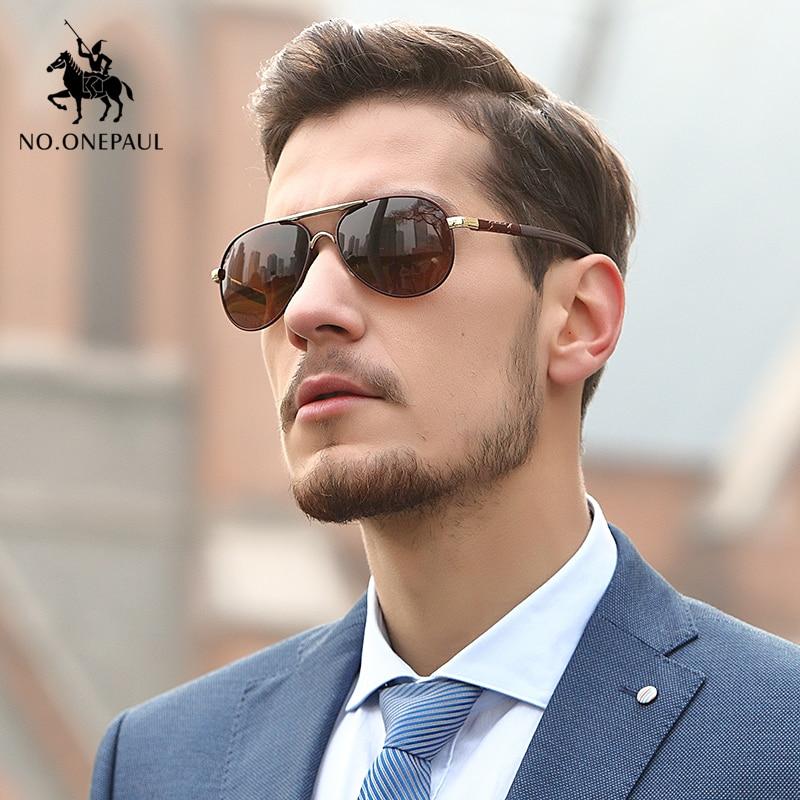 Поляризованные солнцезащитные очки NO.ONEPAUL для мужчин и женщин, дизайнерские Квадратные Солнцезащитные очки унисекс в стиле ретро, для вожде...