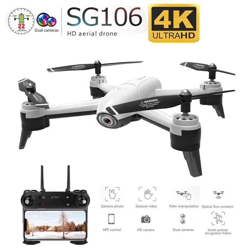 SG106 WiFi FPV RC Drone 4K Камера Оптический Поток 1080 P HD Двойная Камера Антенна Видео RC Quadcopter Самолет Quadrocopter Игрушки Малыш