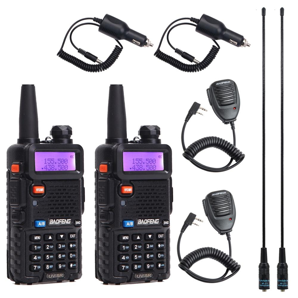 BaoFeng UV-5R Walkie Talkie VHF/UHF136-174Mhz&400-520Mhz Dual Band Two way radio Baofeng uv 5r Portable Walkie talkie 5r