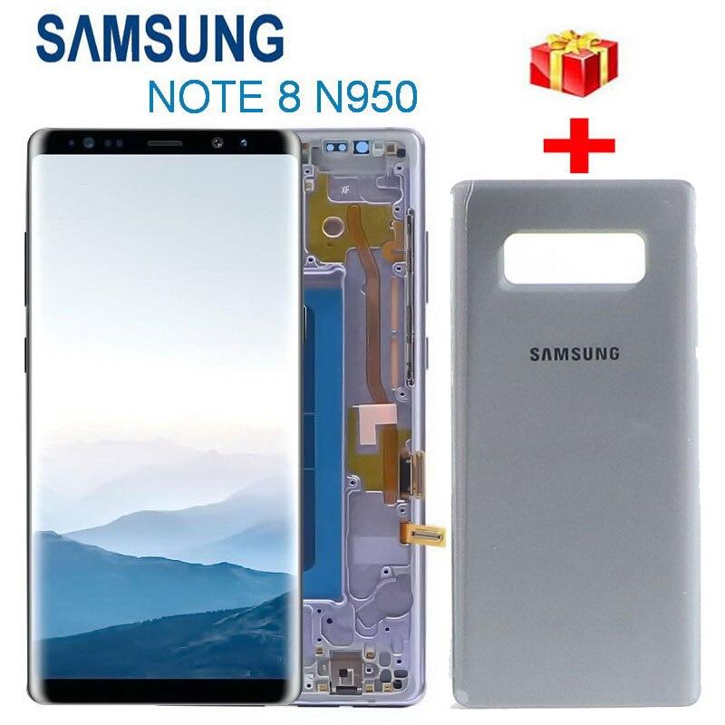 nota original 8 lcd para samsung galaxy note 8 n950 n950f n9500 n950u display lcd