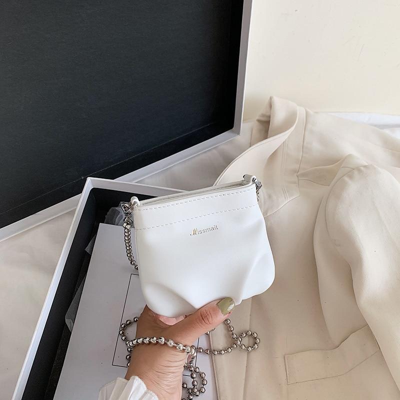 2021 Summer New Trendy Fashion Popular Messenger Handbag Brand Designer Temperament Mini Bucket Bag High Quality Shoulder Bag