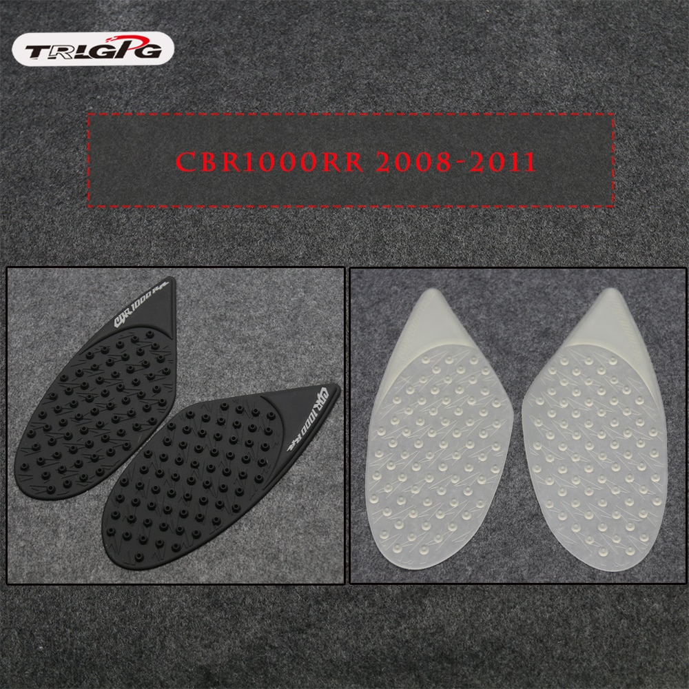 Для Honda CBR1000RR CBR 1000 RR 2008 2009 2010 2011 защитная накладка на бак наклейка на газ наколенник сцепление на бак Тяговая накладка сторона 3 м