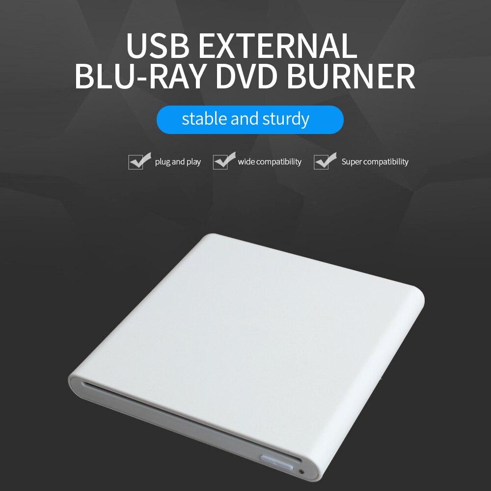 Grabadora de DVD USB 3,0 Unidad de quemador de Blu-ray de succión...