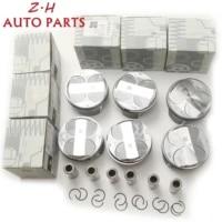 6pcs pistons rings std %cf%8688mm 22mm 272 030 40 17 for mercedes benz a209 c209 clk280 c219 cls300 w203 c 230 w204 c 280 s 204