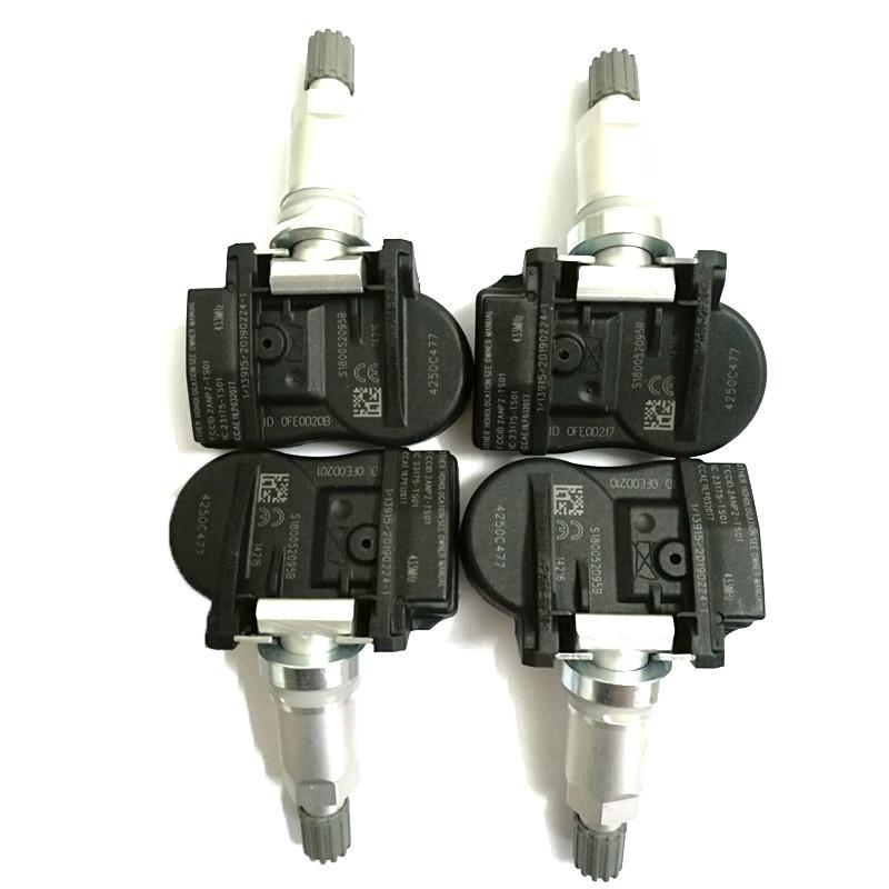 4 шт. TPMS датчик давления в шинах 4250C477 433 МГц для i-MiEV Peu-2014 4008 2014 -EOP для Mitsubishi-ASX L200 для Lancer Outlander