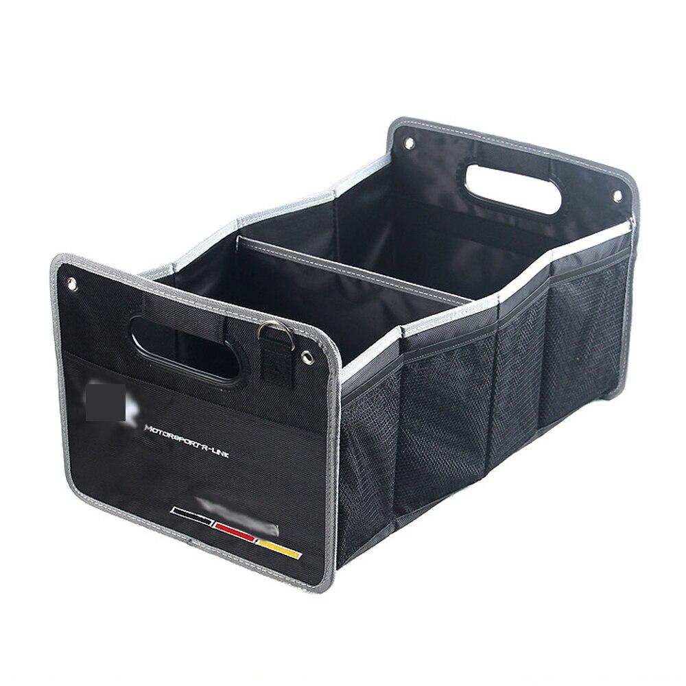 Car Trunk Storage Bag Organizer Tools Container Box For Volkswagen VW Passat B6 B7 Tiguan MK5 MK6 MK7 CC EOS Golf 5 6 7 MAGOTAN