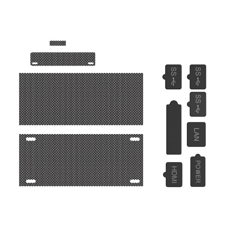 Conjunto de Tomada de Poeira Plug para X-box Líquido Hdmi-relação Compatível Anti-poeira Series s Game Console Usb